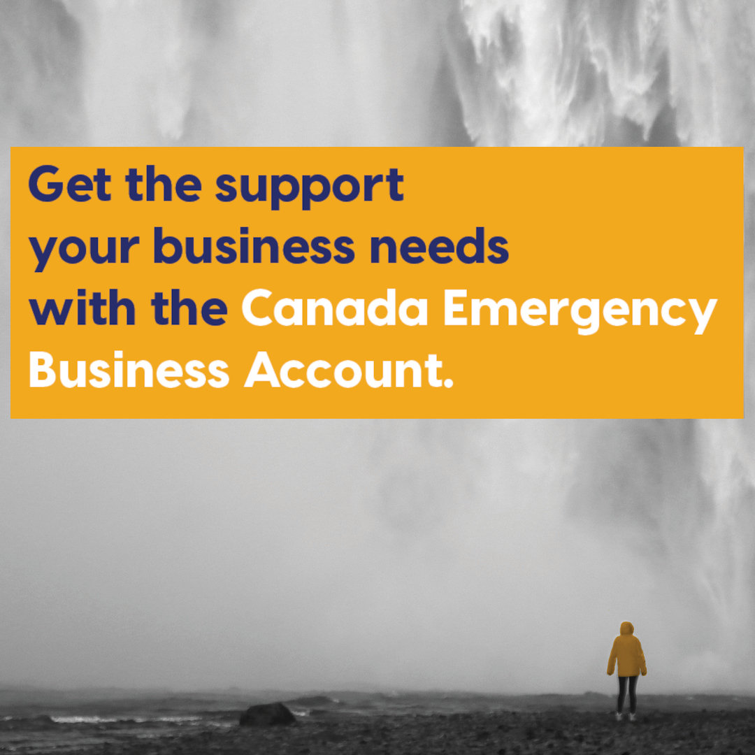 Get the support your business needs with the Canada Emergency Business Account