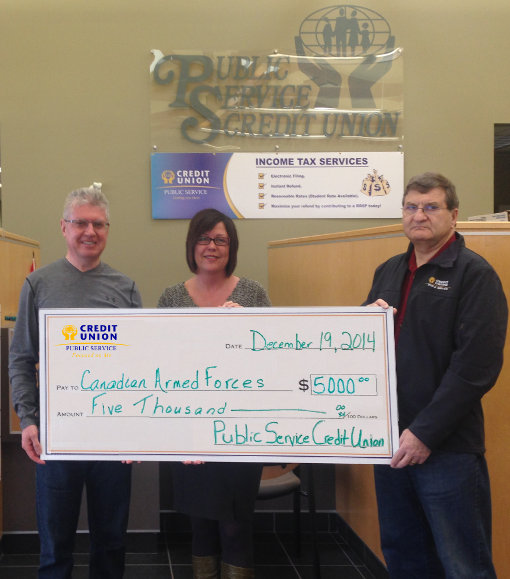 St. John's Military Family Resource Centre $5,000 (2014)