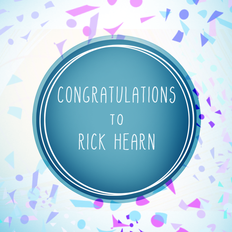 A BIG THANK YOU to everyone who entered our $100 MASTERCARD® Gift Card Giveaway. And CONGRATS to our WINNER Rick Hearn!