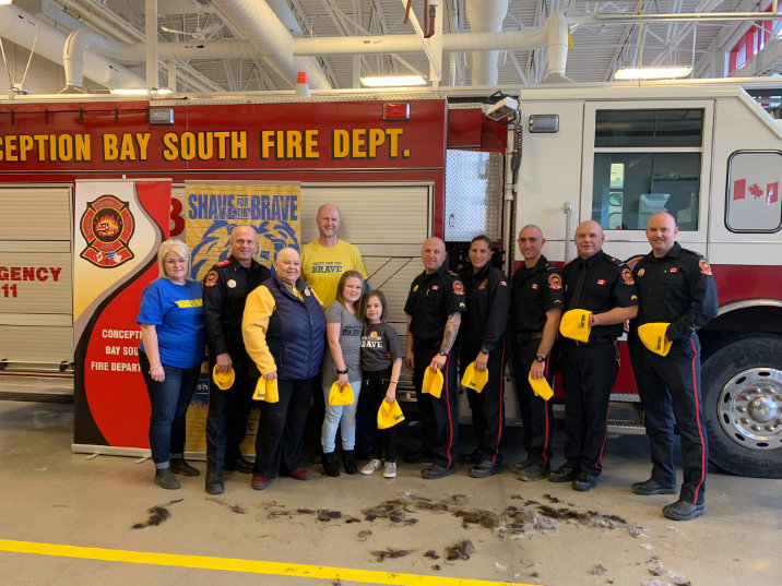Giving back to our communities is not only important, but is built into the fabric of credit unions. On November 18 the CBS Fire Station One raised $3,500 to help young adults live with, through and beyond cancer! Public Service Credit Union contributed $500.