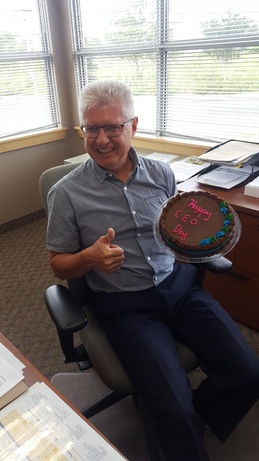 The first ever, CEO Day and it originated on August 22, 2019 from a great group of employees at PSCU! Thank-you everyone, Brian.