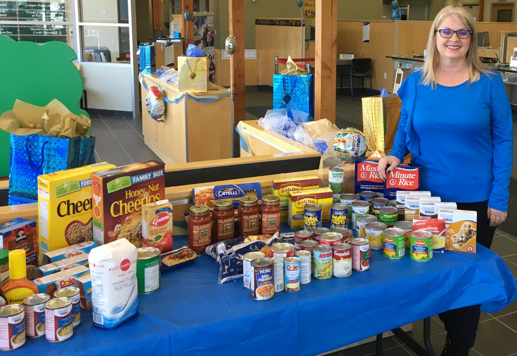 PSCU Annual Food Drive (Credit Union Week October 16-20, 2017)