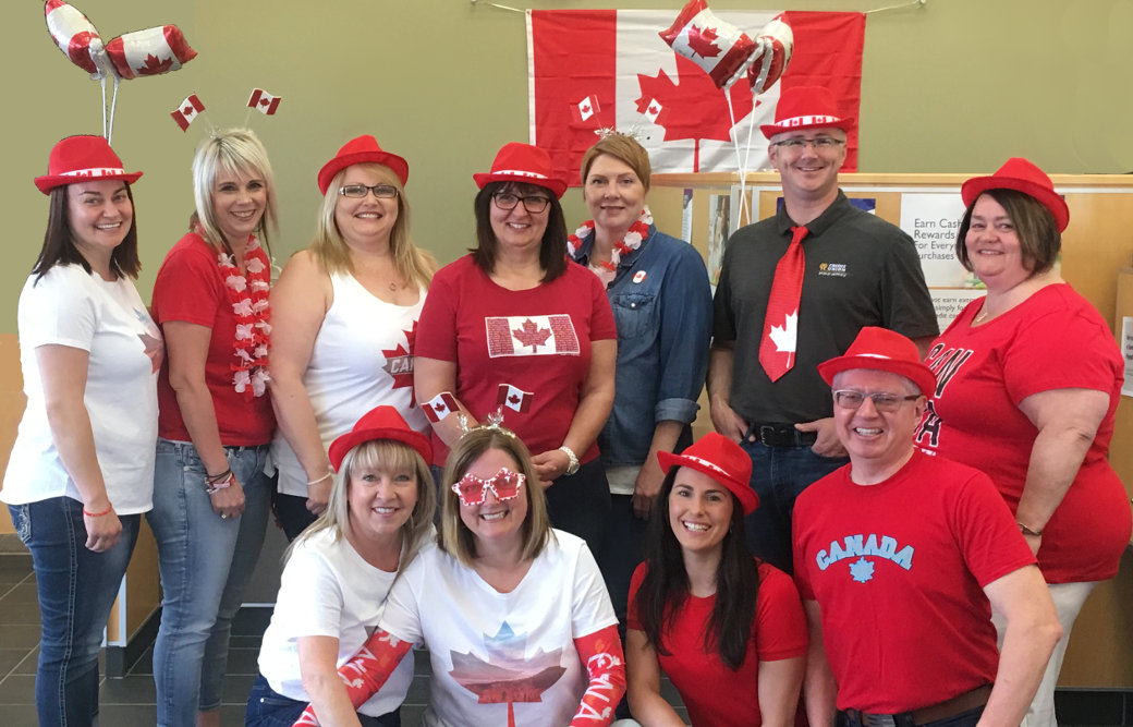 PSCU wishing all Canadians a happy Canada Day!