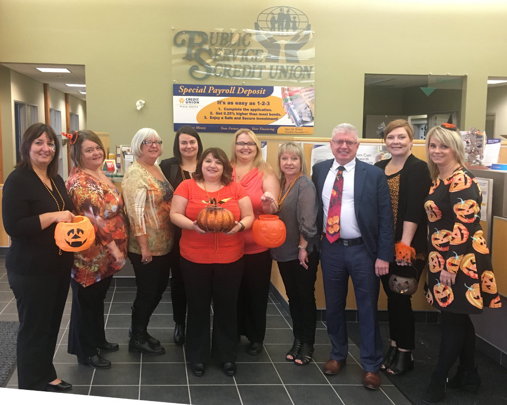Happy Halloween from Public Service Credit Union